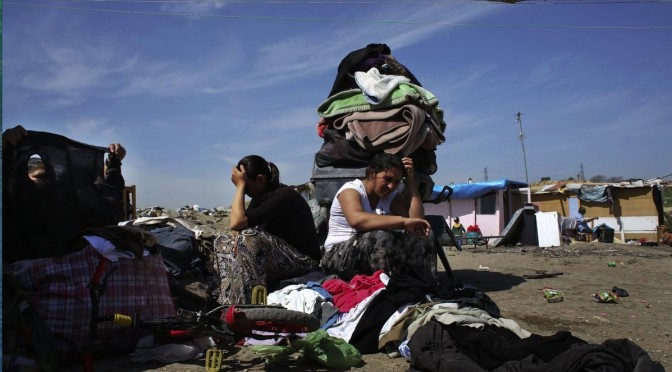 Forcible evictions of Roma in Madrid to commemorate International Roma Day