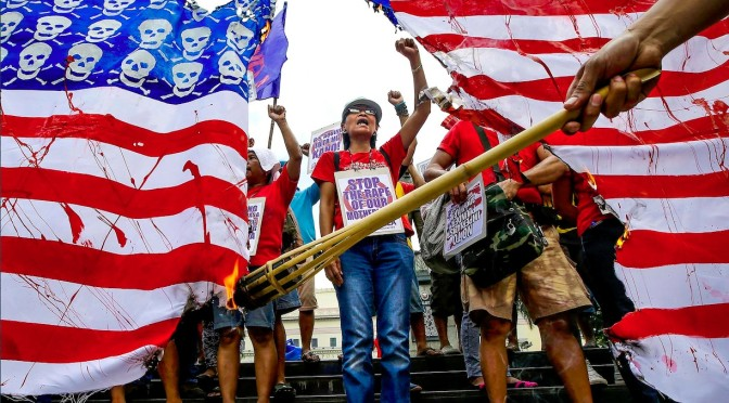 Filipino antiwar movement a beacon for antiwar activists around the world