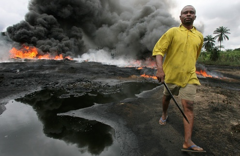 Shell Petroleum plunder in the Niger Delta