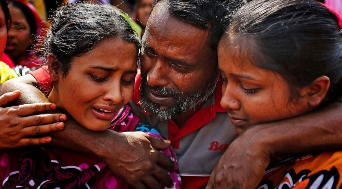 Grieving & defiance in Bangladesh