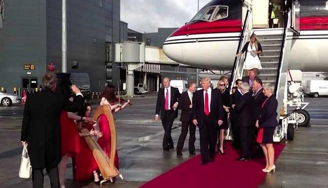 Trump in Ireland May 13 2014
