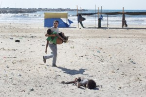 Gaza beach murders July 18 2014