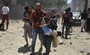 Gaza bombing (2) July 10 2014