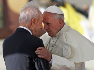 Pope and Peres July 24 2014