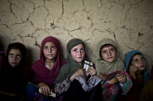 Afghan children August 12 2014
