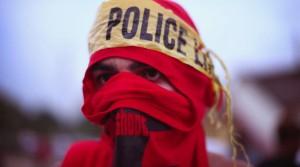 Ferguson protester August 18 2014 (Scott Olson:Getty Images)