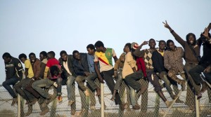 African immigrants (AFP) Oct 23 2014
