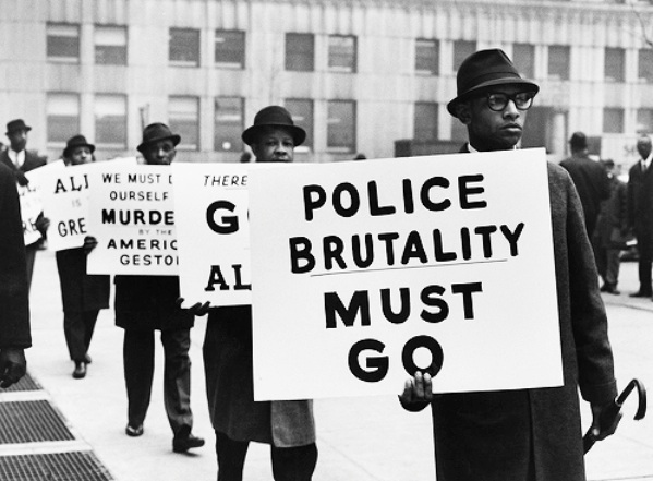 "police brutality 10 Nearly eight out of 10 adults responded they had a ""great deal"" of respect for police in fact, only 6% of the 1,626 people polled across the country said they believed police brutality even existed at all."