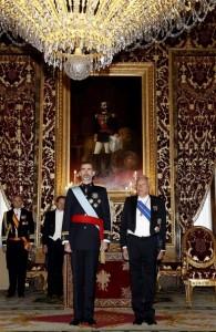 Felipe VI on CH (Imago:Barcroft Media) Jan 12 2015