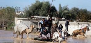 Gaza flooding (Ibraheem Abu Mustafa:AP) Feb 25 2015