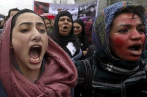 Kabul Farkhunda protest (Reuters:Omar Sobhani) Apr 27 2015