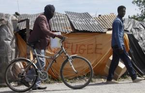 Calais refugee camp ( Michel Spingler:AP) June 26 2015
