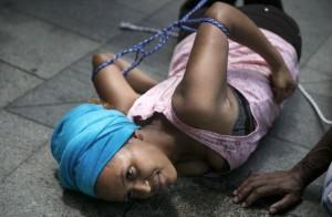 Eritrean refugee in Israel (Baz Ratner:Reuters) June 26 2015