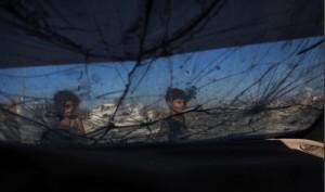 Gaza children (- Wissam Nassar:Xinhua Press:Corbis) June 24 2015