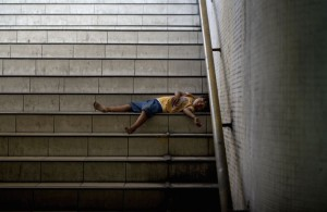 Homeless in Manila ( NOEL CELIS:AFP:Getty Images) June 28 2015