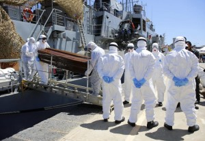 Irish navy in Libya (REUTERS:Antonio Parrinello) July 30 2015