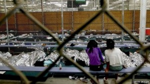 Immigrant kids in detention (Getty Images) August 28 2015