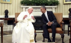 Pope & Obama (Andrew Harnik:AP) Sept 23 2015