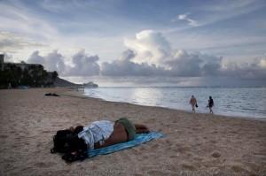 Honolulu beach  (AP Photo:Jae C. Hong) Nov 10 2015