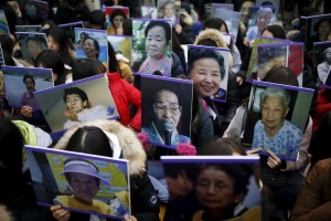 Deceased comfort women (Kim Hong-Ji:Reuters) Dec 30 2015