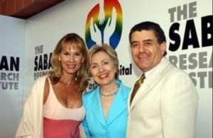 Sabans & H. Clinton 2003