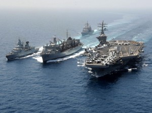 US navy ships as part of NATO