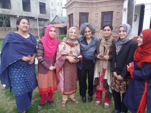 A. Roy in Kashmir (Khurram Parvez)