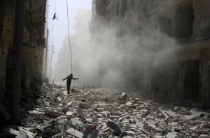 Aleppo, Sept 25 2016 (REUTERS:Abdalrhman Ismail) Sept 30 2016