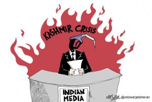 Kashmir crisis:Indian media MIR Suhail