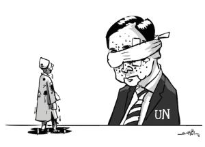 UN & Kashmir cartoon (Suhail Naqshbandi) Sept 21 2016