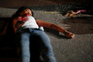 17-year-old Filipino girl killed (REUTERS:Damir Sagolj) Oct 29 2016