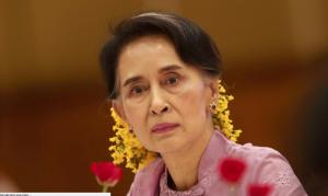 Aung San Suu Kyi (Hein Htet:EPA) Dec 31 2016