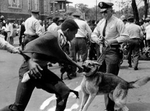 K-9 unit attack at Children's Crusade 1963 Birmingham
