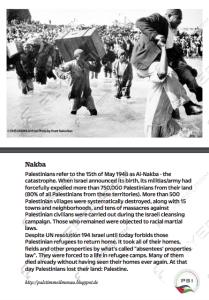 Naqba postcard
