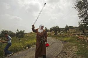 Palestinian woman from Apr 2013
