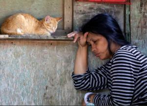 Philippines displaced woman ( REUTERS:Erik De Castro.) May 30 2017
