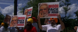 Anti-Modi protest in DC (AP) June 27 2017