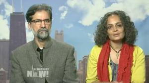 Sanjay Kak and Arundhati Roy