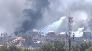 White phosphorous in Mosul (YouTube) July 8 2017