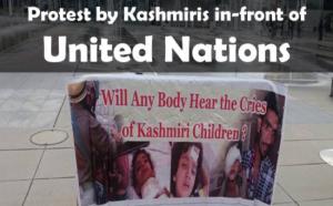 UN Kashmiri protest Sept 21 2017