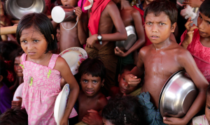 Ro kids at Cox's Bazar (Abir Abdullah:EPA) Oct 31 2017