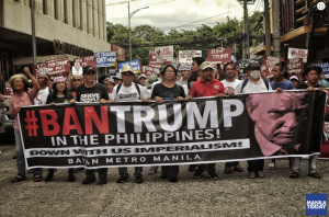 Ban Trump in Philippines (Manila Today Nov 14 2017