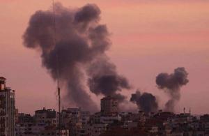 Israeli bombing in Gaza (Palestine Observer) Nov 30 2017