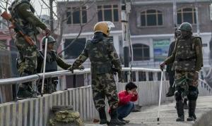 Kashmiri boy harassed by 5 soldiers Nov 19 2017