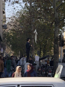Iran protests (tweeted Maziar Bahari @ MaziarBahari) Dec 31 2017