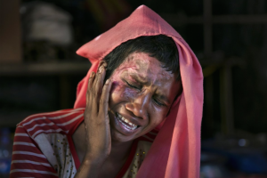 Mumtaz Begum, 30, Ro rape victim (Alison Joyce:Getty Images) Dec 7 2017