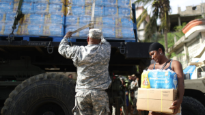 FEMA delivery of water to San Isidro, Puerto Rico (Mario Tama:Getty Images) Jan 30 2018