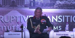 Indian Army General Bipin Rawat at Raisina Dialogue 2018