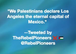 Palestine:LA meme Jan 17 2018