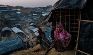 Balukhali camp (Adam DEan for NYTimes) Feb 16 2018